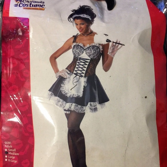 "California Costumes Other - California Costume French Maid ""Fi Fi Le Flirt""- M"